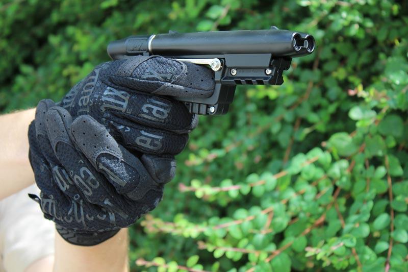 JPX mit Einsatzhandschuhen